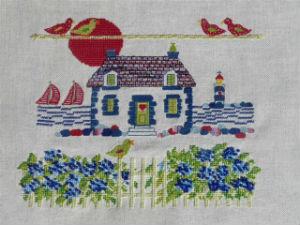 la maison aux hortensias